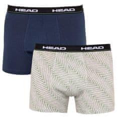 Head 2PACK pánske boxerky viacfarebné (891005001 686) - veľkosť L