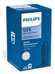 Philips WhiteVision Gen2 avtožarnica, D2S, 85V, 35W, P32D-2C1 (85122WHV2C1)