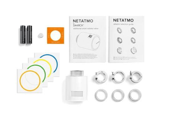 Netatmo Single Valve - múdra termostatická hlavica - zánovné