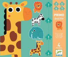 Djeco Prvé puzzle Jungle