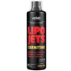 VPLAB LipoJets Carnitine Lime-Tea prehrambeni dodatek, 500 ml