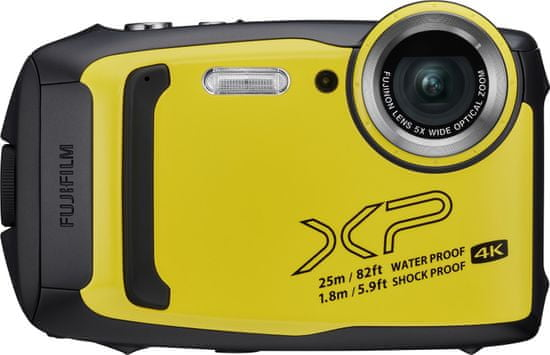 FujiFilm XP140, podvodni fotoaparat, rumen