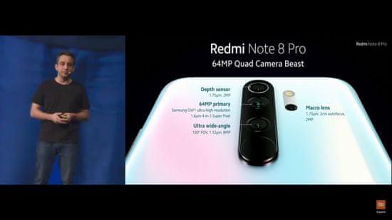 Xiaomi Redmi Note 8 Pro, 6GB/64GB, Global Version, White