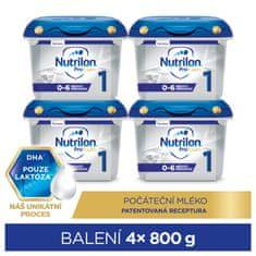 Nutrilon 1 Profutura počáteční kojenecké mléko 4x 800 g, 0+