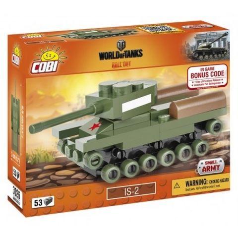 Cobi 3026 WOT Nano Tank IS2, 53 k