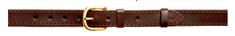 Zubíček OP 05/b Opasek kožený 1x prošitý 3 cm - 140 cm