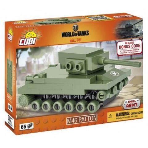 Cobi 3027 WOT Nano Tank M46 Patton, 66 k