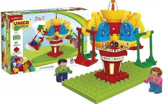 Unico Plus Unico Plus stavebnice Kolotoč typ LEGO DUPLO 31 dílů