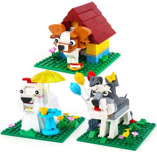 XINGBAO Xingbao stavebnice Pejsci typ LEGO 402 dílů