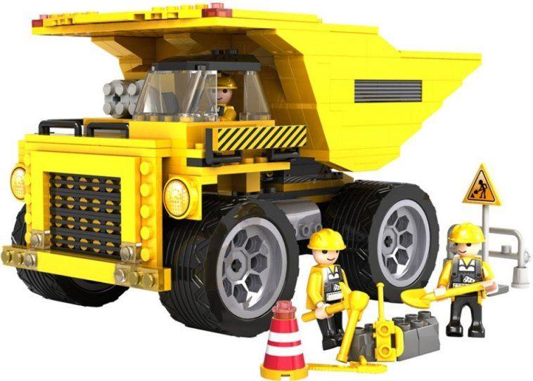 Cogo stavebnice Nákladní sklápěč typ LEGO 423 dílů
