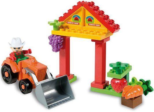 Unico Plus Unico Plus stavebnice Farma typ LEGO DUPLO 21 dílů