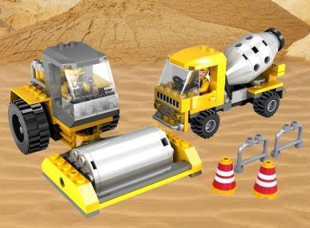 Cogo stavebnice Silniční opravy typ LEGO 207 dílů