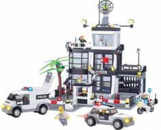 Blocki Blocki stavebnice velká Policejní stanice kompatibilní 631 dílů