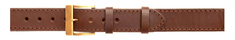 Zubíček Opasek kožený 1x prošitý 4 cm - 140 cm