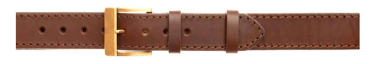 Zubíček OP 06/b Opasek kožený 1x prošitý 4 cm