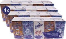 LINTEO Papierové vreckovky Linteo 4x 15x10, 3 vrstvové
