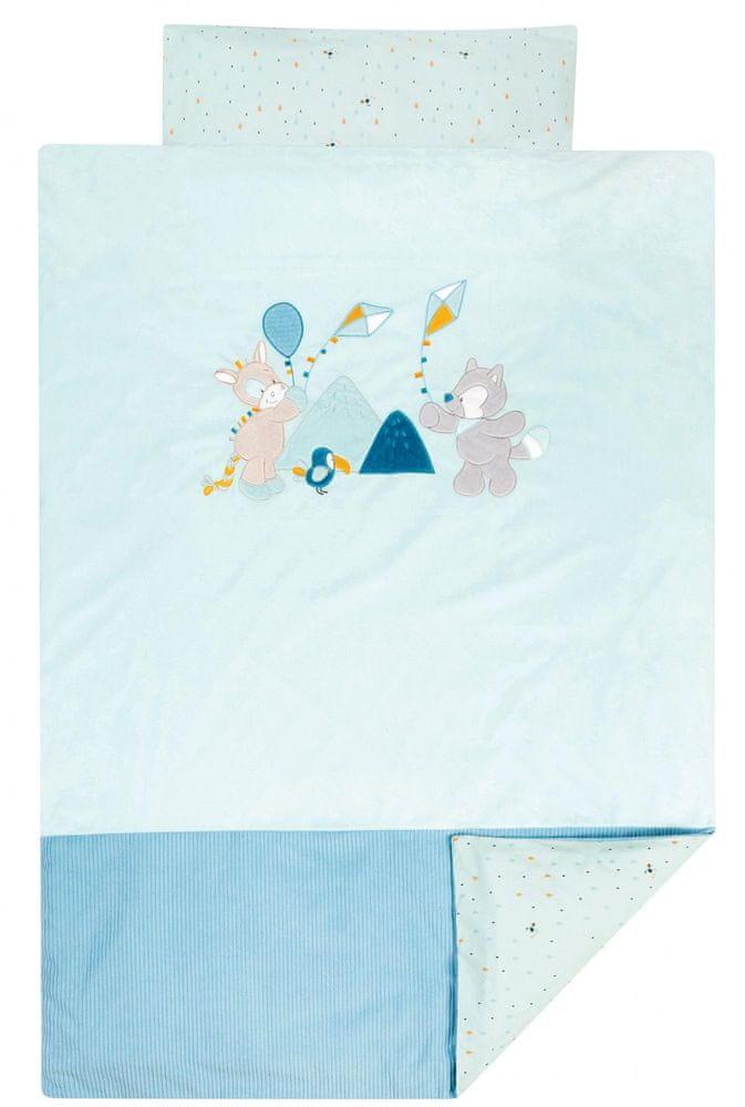 Nattou Povlečení na postel 100 × 140 a 40 × 60 cm TT