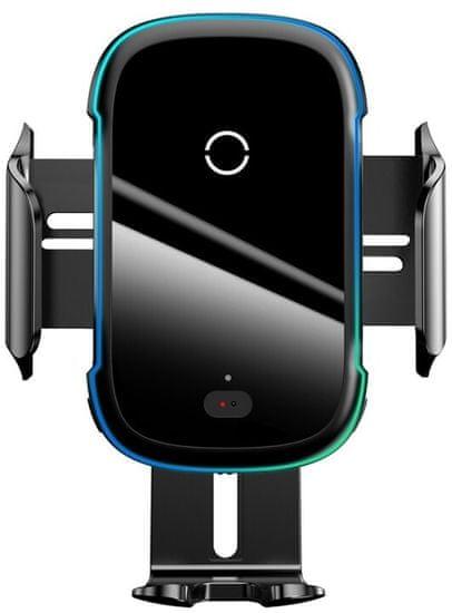 BASEUS Light Electric bezdrátová nabíječka do automobilu (15W), černá, WXHW03-01