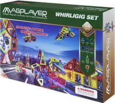 MAGPLAYER Magplayer magnetická stavebnica 166 ks