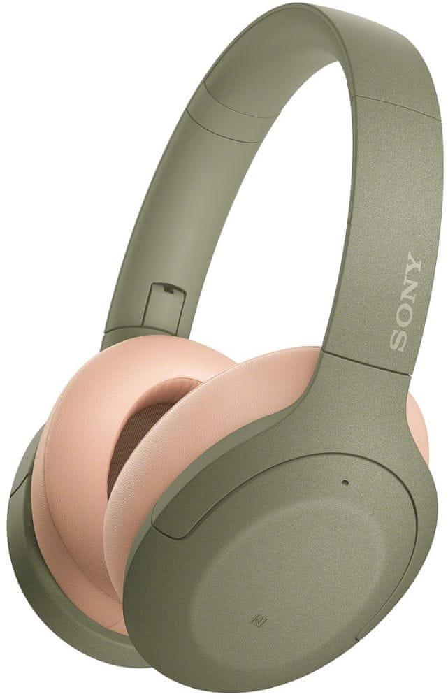 Sony WH-H910N bezdrátová sluchátka, zelená
