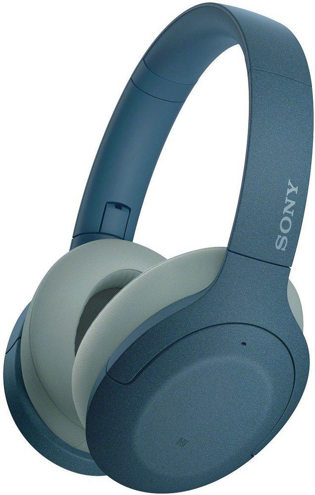 Sony WH-H910N bezdrátová sluchátka, modrá