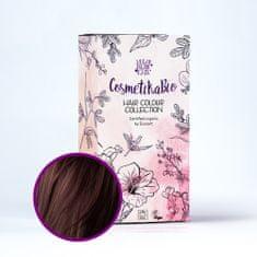 Cosmetikabio 100% přírodní barva na vlasy Tmavě hnědá 100 g