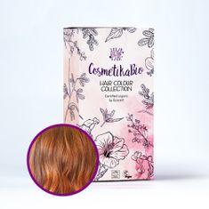 Cosmetikabio 100% přírodní barva na vlasy Kaštanově červená 100 g