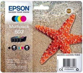 Epson 603 Multipack, 4 barvy (C13T03U64010)