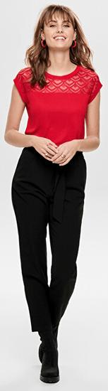 ONLY Ženska majica ONLNICOLE 15151008 Risk z High tveganjem