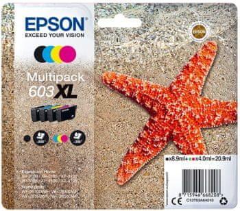Epson 603XL Multipack, 4 barvy (C13T03A64010)