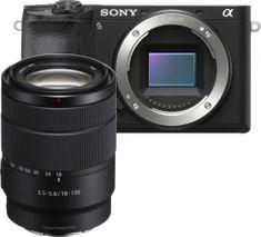 ILCE-6600MB brezzrcalni fotoaparat + SEL18135 objektiv, črn