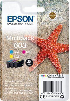 Epson 603 Multipack, 3 barvy (C13T03U54010)