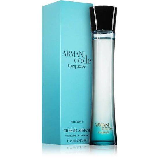 Armani Code Turquoise For Women toaletna voda, 75 ml