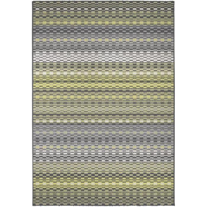 Cdiscount kusový koberec Madrid, 160x230cm, zelená/žlutá