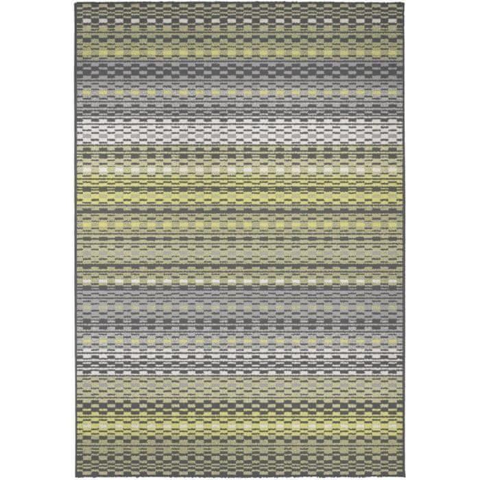 Cdiscount kusový koberec Madrid 120x170cm, zelená/žlutá