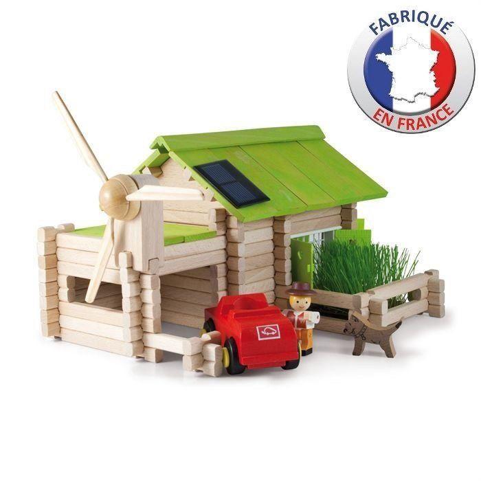 Jeujura stavebnice Ekologická farma - 145 dílků