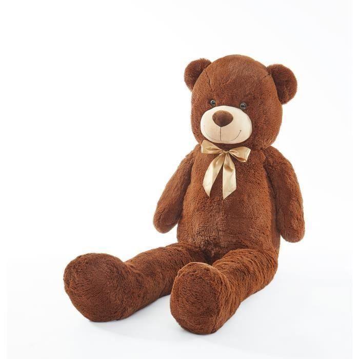 ICETOOLZ plyšový medvídek 150 cm - hnědá