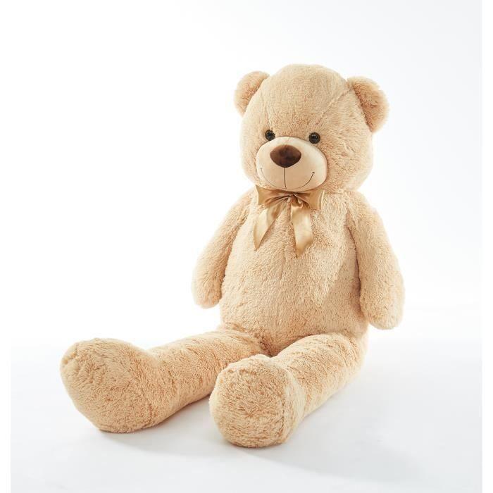 ICETOOLZ plyšový medvídek 150 cm - béžová