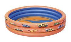 Bestway Nafukovací bazének Hot Wheels, průměr 1,22m, výška 25cm