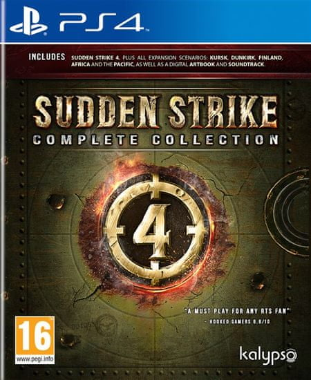 Kalypso Media Sudden Strike 4: Complete Collection igra (PS4)