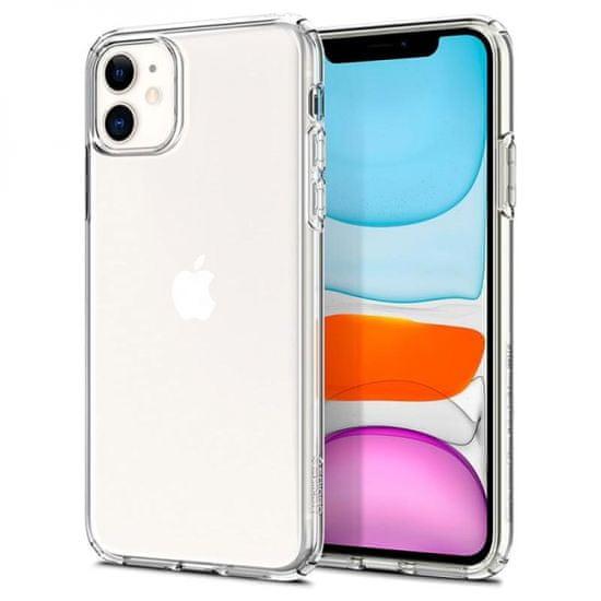 Spigen Liquid Crystal ovitek za Apple iPhone 11, silikonski, prozoren