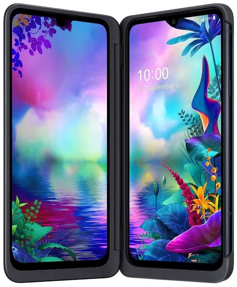 LG G8X ThinQ, 6GB/128GB, New Aurora Black