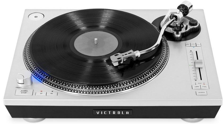 Victrola VPRO-2000, stříbrná