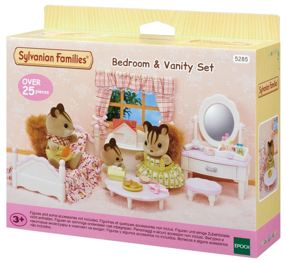 Sylvanian Families Ložnice s toaletkou pro slečnu
