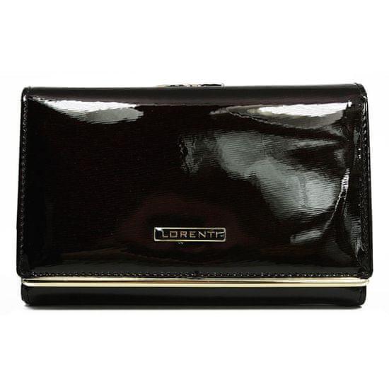 Lorenti Kožená dámská peněženka Aurora, černá