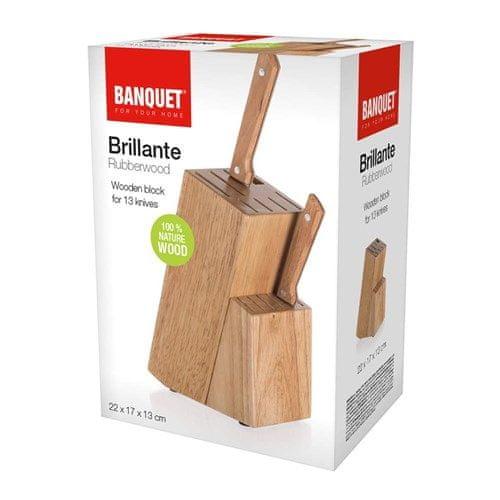 Banquet Brillante leseno stojalo za 13 nožev, 22 x 17 x 13 cm