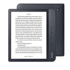 """Kobo Libra H2O e-bralnik, 17,8 cm (7""""), na dotik, 8 GB, WiFi, črn"""