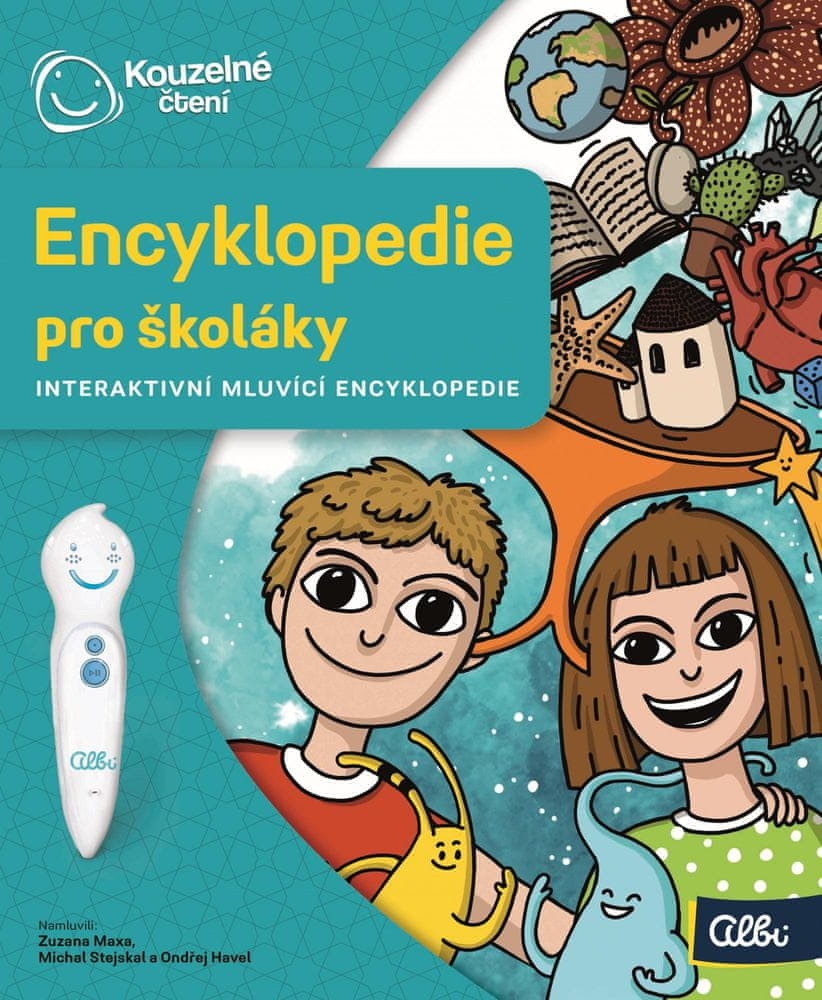 Albi KOUZELNÉ ČTENÍ Encyklopedie pro školáky