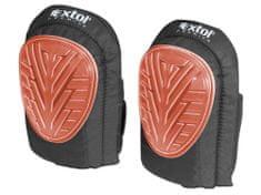 Extol Premium Nákoleník gelový, 2ks, uni velikost, gelové a pěnové tlumení, suchý zip