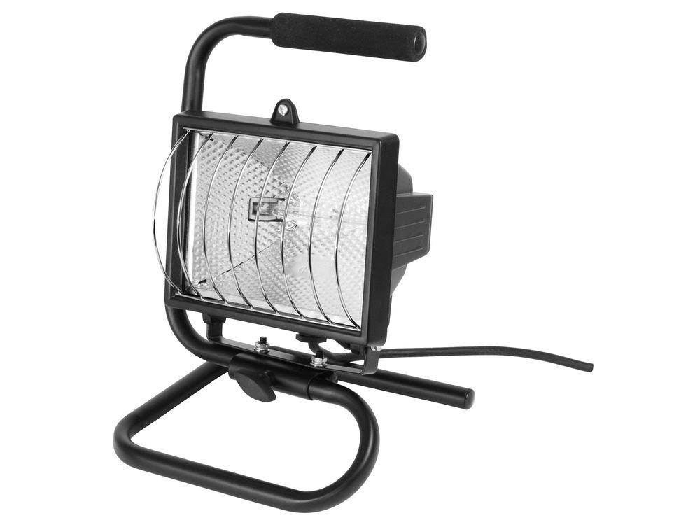 Extol Craft Světlo halogenové přenosné s podstavcem, 150W, kabel 1,7m